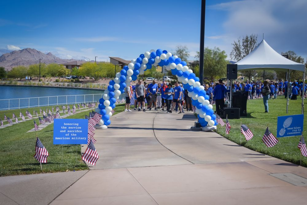Wear Blue Run To Remember 2019